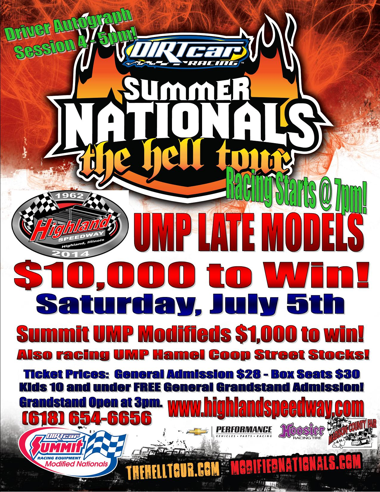 Summer Nationals Flyer