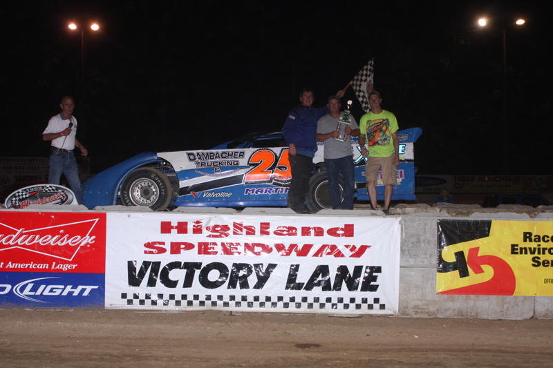 Frankie Martin Late Models Winner